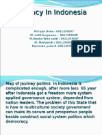 Democracy in Indonesia