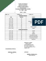 classroom program grade 1