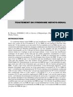 Traitement Du Syndrome Hépato-rénal