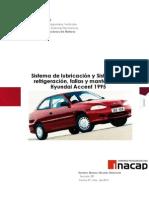 Sistema de lubricación y Sistema de refrigeración, fallas y mantención. Hyundai Accent 1995.docx
