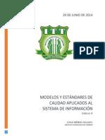 Modelos y estandares de calidad aplicados al sistema de informacion.docx