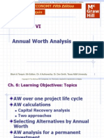 Annual Worth Analysis