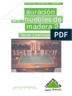 Restauracion de Muebles de Madera 02