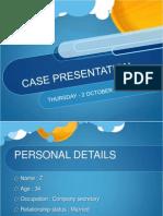 Obstetrics Case Presentation 2:10