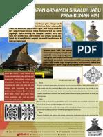 Arsitektur nusantara- Penerapan Ornamen Siwaluh Jabu pada Rumah Kisi