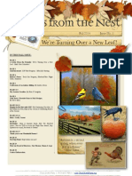 News From the Nest, Fall 2014