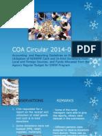 COA Circular 2014-002