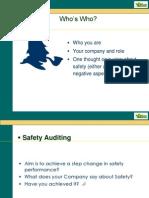 Presentation on Advance Safety Audit