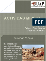 ACTIVIDAD MINERA.pptx