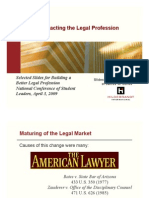Trends Impacting Legal Profession
