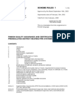 Finnish Quality Assurance and Certification Scheme for Preinsulated District Heating Pipe Systems