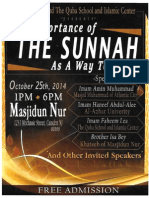 The Importance of the Sunnah As A Way To Unity