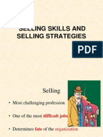 Selling Skills and Selling Strategies