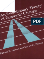 Evolutionary-Theory-Of Economic Change