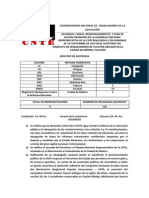 28 de septiembre 2014 acuerdos  tareas y pronunciamentos de la anr de la cnte