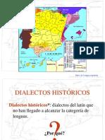 Dialéctos históricos