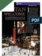 Scotland's Cities Feature the Travel & Leisure Magazine November 09