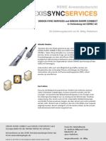 SIDEXIS Sync Services und Dürr Connect mit CEREC AC Anwenderbericht