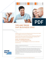 Enabling_SAP B1_Tips and Tricks SAP_January 2012