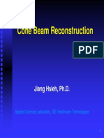 Cone Beam Reconstruction