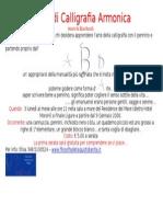 Corso Di Calligrafia Armonica