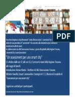 Invito alla presentazione del modello di assessment per le Smart Cities