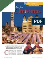 European Christmas Markets Feature the Travel & Leisure Magazine November 09