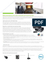 Dell 4220 and 4320 Projector Brochure