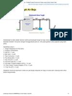 Lakaran Sistem Tangki Air Baja