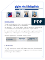 how to apply job at Aditya  Birla Group