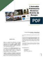 I Jornadas Patrimonio Histórico - Distrito de Barajas