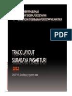 Alternatif Track Layout Surabaya Pasar Turi