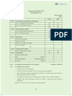 CBSE 2015 Syllabus 12 Accountancy New