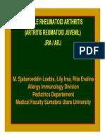 Mk Aia Slide Juvenile Rheumatoid Arhtritis