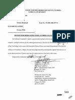 Motion For Disqualification+JQC Complaint-re-Florida Judge Monica Sierra
