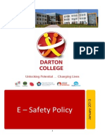 E Safety Policy