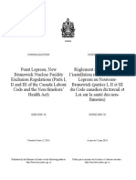 SOR-2008-76 Point Lepreau, New Brunswick Nuclear Facility Exclusion Regulations (Parts I, II and III of the Canada Labour Code and the Non-Smokers' Health Act.pdf