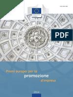 European Enterprise Promotion Awards Compendium 2014 in Italian