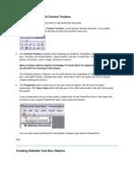 Accessing the ActiveX Control Toolbox