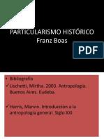PARTICULARISMO HISTÓRICO2014.pptx