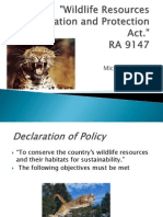 Wildlife Act Powerpoint