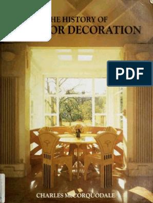 The History Of Interior Decoration Pdf Column Mosaic