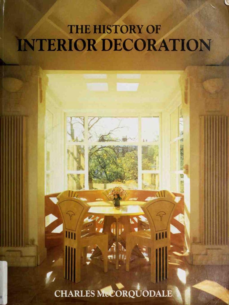 The History Of Interior Decorationpdf