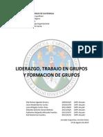 LIDERAZGO, FORMACION DE GRUPOS Y GRUPOS DE TRABAJO.docx