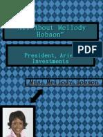 Delojhia Franklin Mellody Hobson