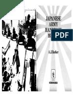 [Ian Allan] a.J. Barker Japanese Army Handbook