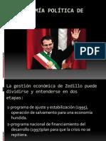 La economía política de Zedillo.pptx