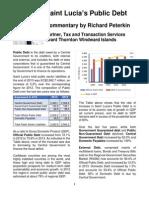 Saint Lucia's Public Debt