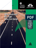 Hot Mixed Asphalt Selection Guide