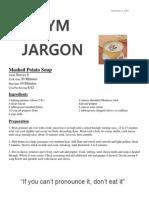 gym jargon 9 5